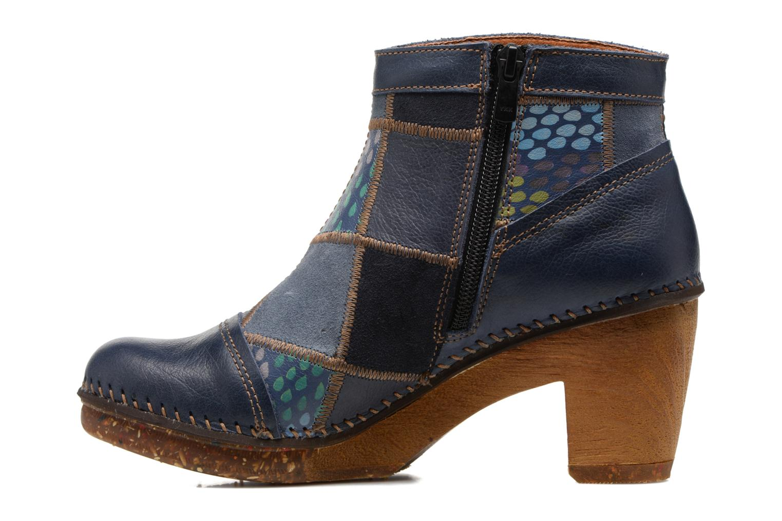 Bottines et boots Art AMSTERDAM 1054 Bleu vue face