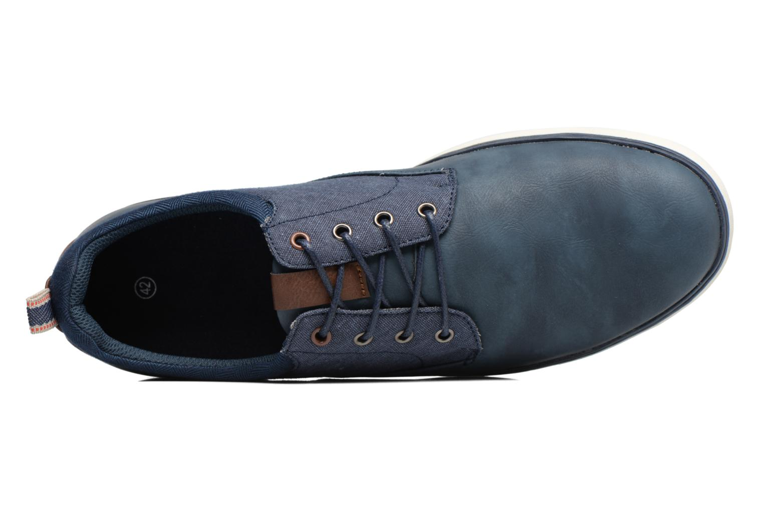 Trainers I Love Shoes SOLAL Blue view from the left