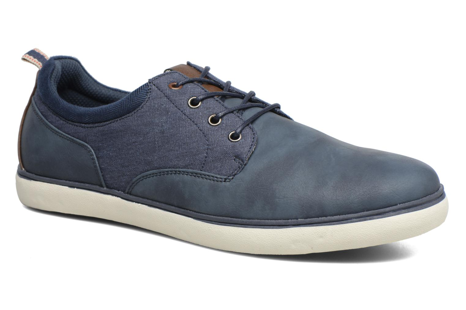 Trainers I Love Shoes SOLAL Blue detailed view/ Pair view