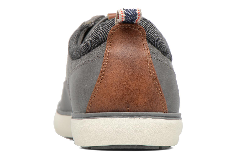 Baskets I Love Shoes SOLAL Gris vue droite