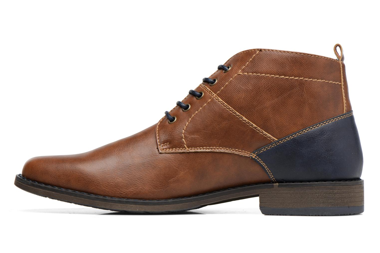 Botines  I Love Shoes SIMEON Marrón vista de frente