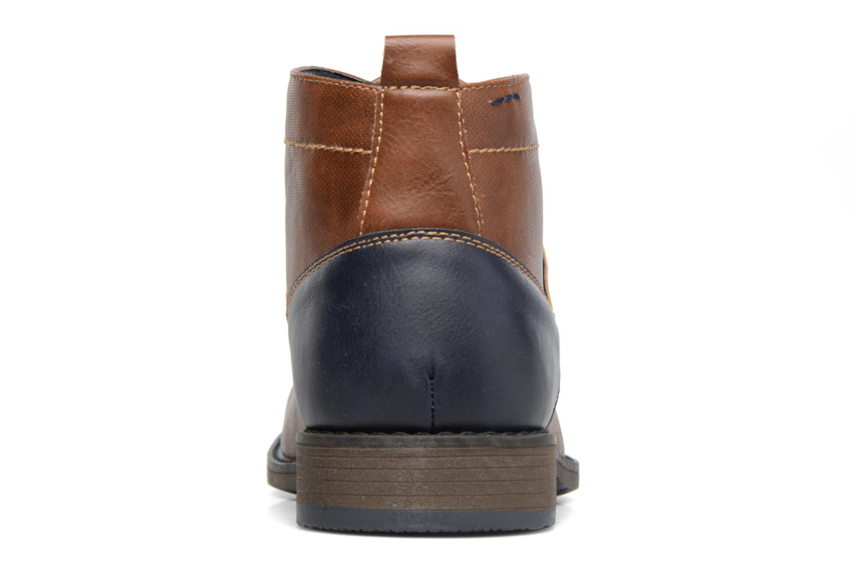 Botines  I Love Shoes SIMEON Marrón vista lateral derecha