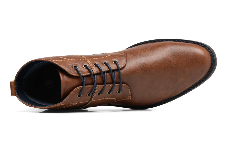 Botines  I Love Shoes SIMEON Marrón vista lateral izquierda