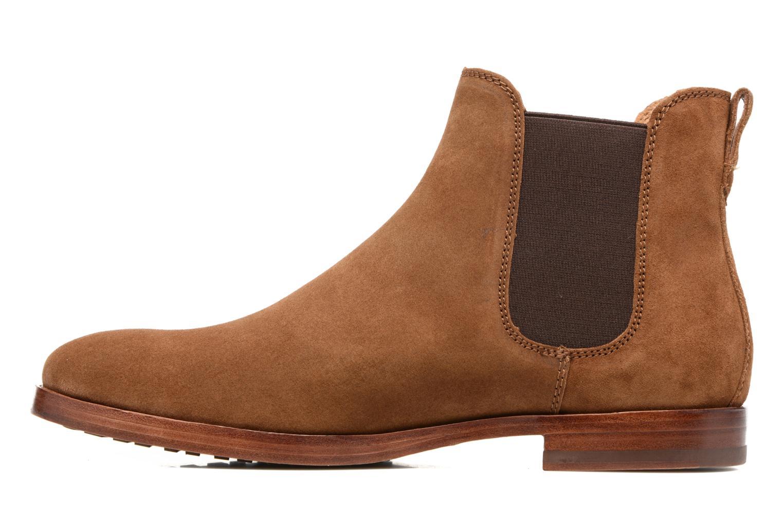 Bottines et boots Polo Ralph Lauren Dillian II Marron vue face