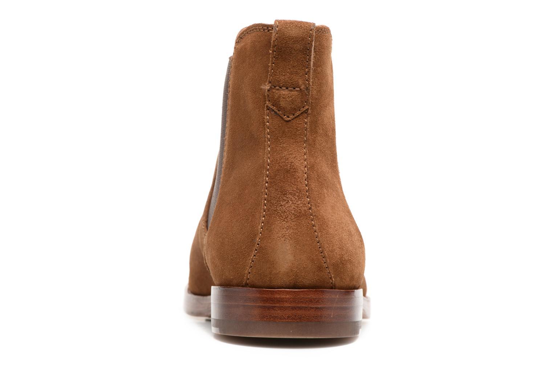 Bottines et boots Polo Ralph Lauren Dillian II Marron vue droite