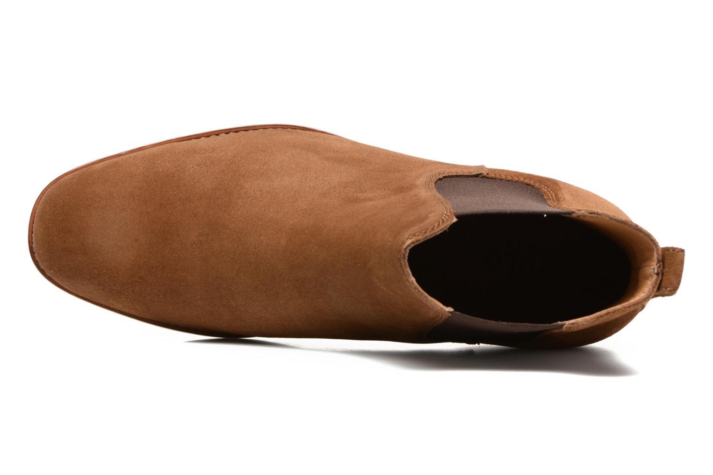 Bottines et boots Polo Ralph Lauren Dillian II Marron vue gauche