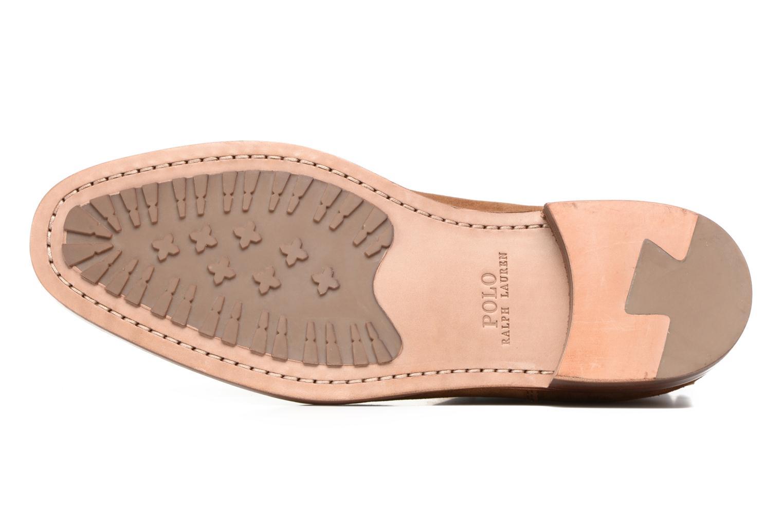 Bottines et boots Polo Ralph Lauren Dillian II Marron vue haut