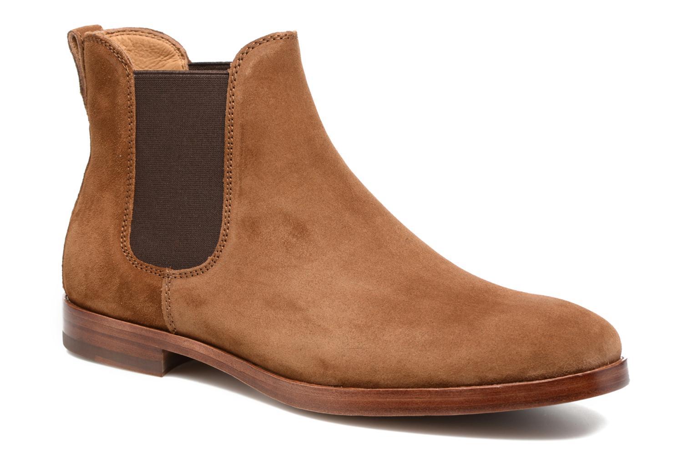 Bottines et boots Polo Ralph Lauren Dillian II Marron vue détail/paire