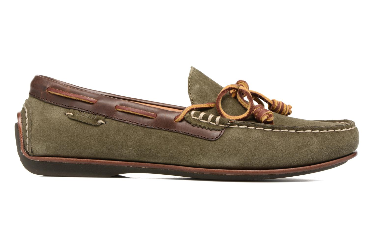 Loafers Polo Ralph Lauren Davy Green back view