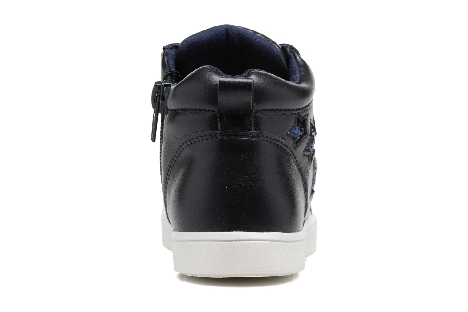 Trainers I Love Shoes FIDAN Blue view from the right