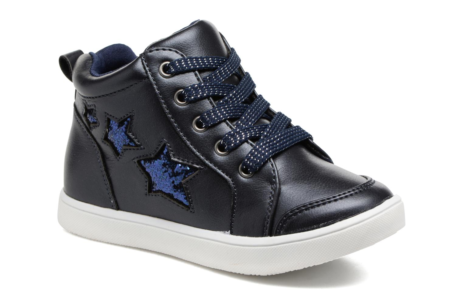 Trainers I Love Shoes FIDAN Blue detailed view/ Pair view