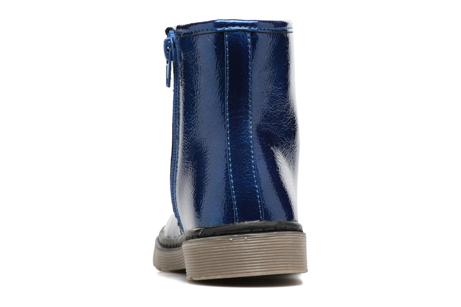Ankle boots I Love Shoes FRANCETTE Blue view from the right