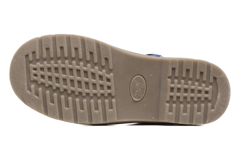 Bottines et boots I Love Shoes FRANCETTE Bleu vue haut
