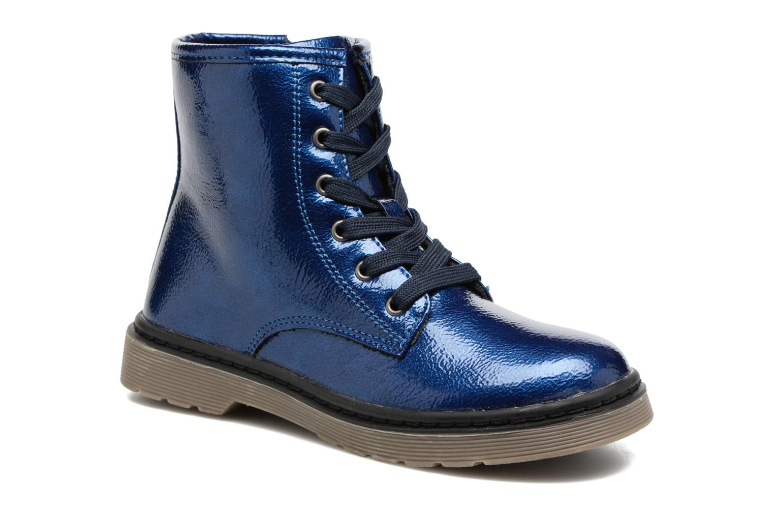 Ankle boots I Love Shoes FRANCETTE Blue detailed view/ Pair view