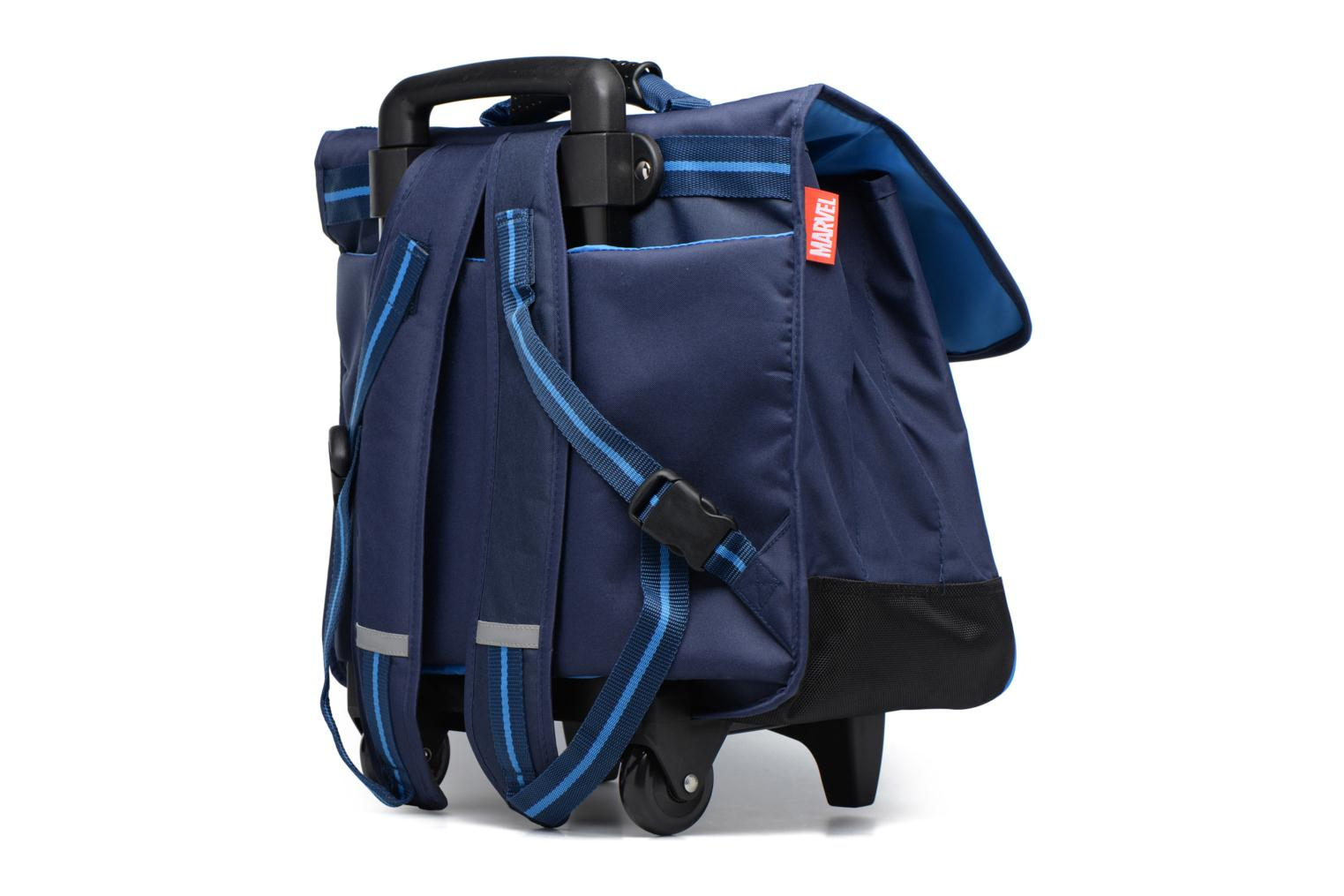 Cartable 41cm Trolley Bleu