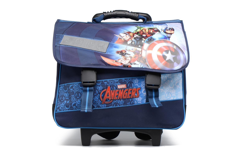 Scolaire Avengers Cartable 41cm Trolley Bleu vue détail/paire