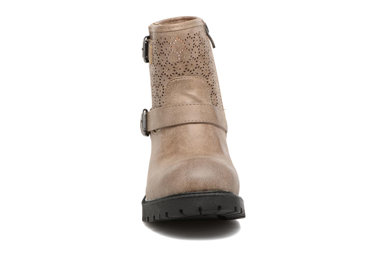 Bottines et boots MTNG Suevo 52469 Beige vue portées chaussures