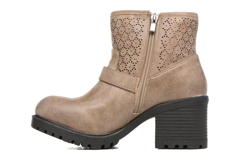 Bottines et boots MTNG Suevo 52469 Beige vue face