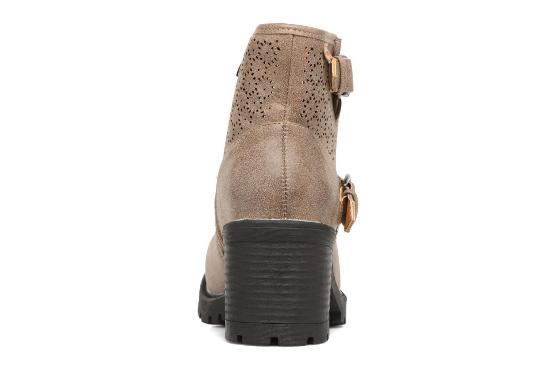 Bottines et boots MTNG Suevo 52469 Beige vue droite