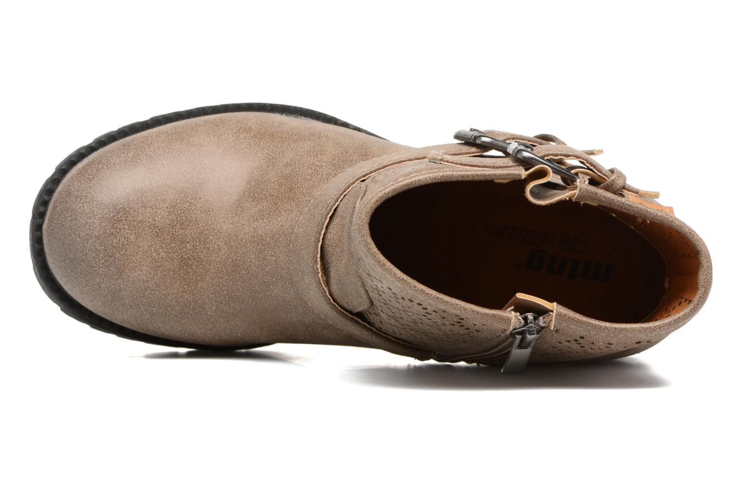 Bottines et boots MTNG Suevo 52469 Beige vue gauche