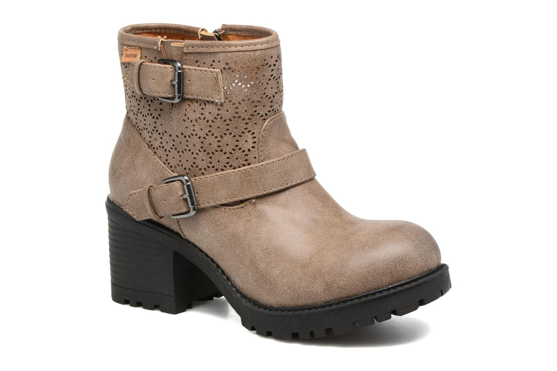 Bottines et boots MTNG Suevo 52469 Beige vue détail/paire