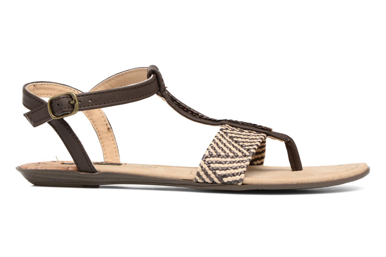 Sandales et nu-pieds MTNG Brush 53533 Marron vue derrière