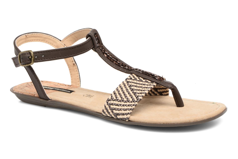 Sandales et nu-pieds MTNG Brush 53533 Marron vue détail/paire