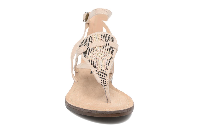 Sandales et nu-pieds MTNG Micra 53575 Beige vue portées chaussures