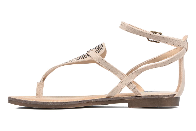 Sandales et nu-pieds MTNG Micra 53575 Beige vue face