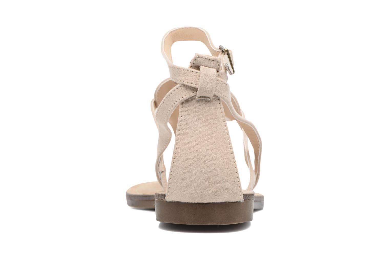 Sandales et nu-pieds MTNG Micra 53575 Beige vue droite