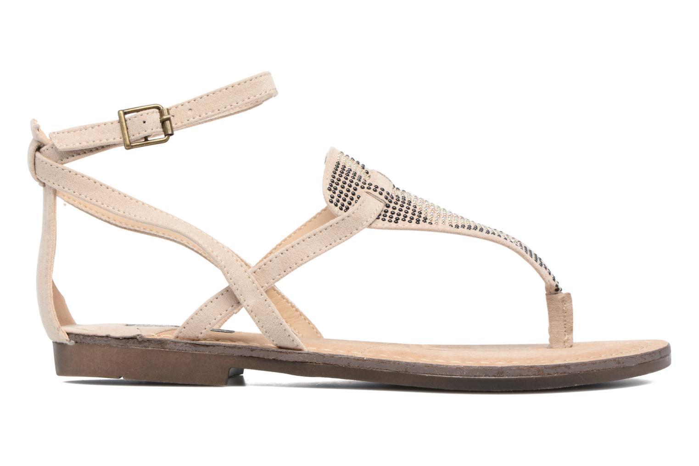 Sandales et nu-pieds MTNG Micra 53575 Beige vue derrière