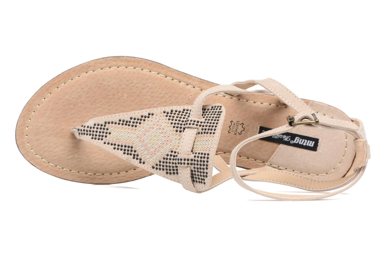 Sandali e scarpe aperte MTNG Micra 53575 Beige immagine sinistra