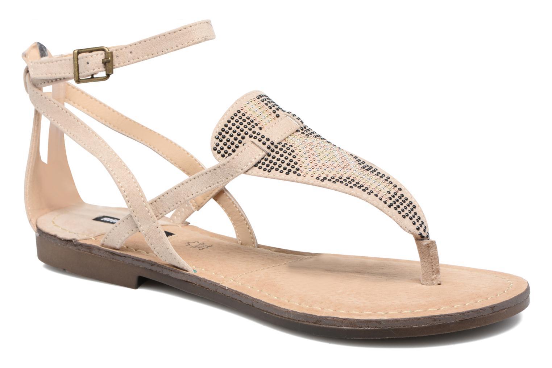 Sandales et nu-pieds MTNG Micra 53575 Beige vue détail/paire