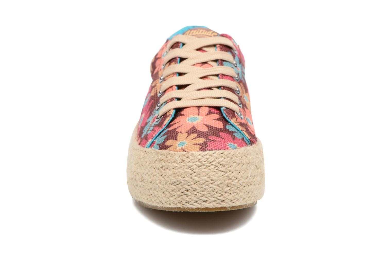 Baskets MTNG Pailla 69516 Rose vue portées chaussures