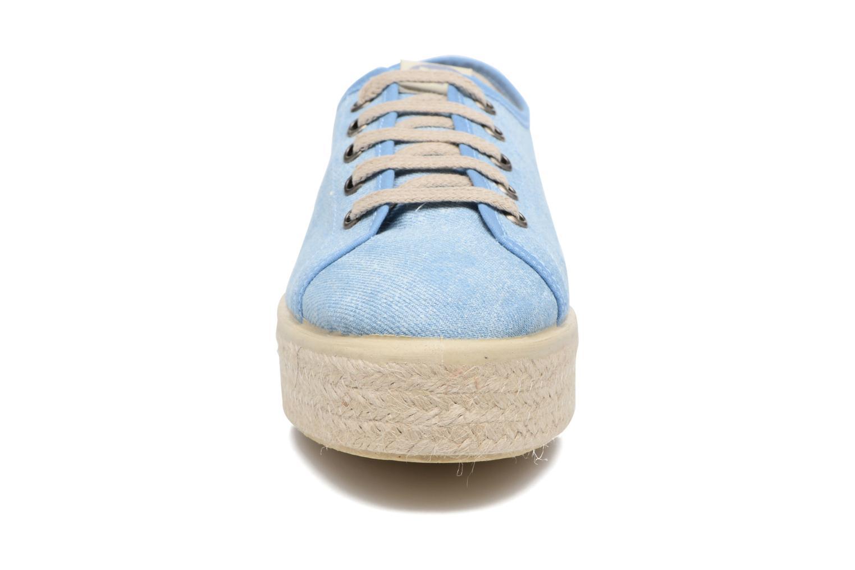 Baskets MTNG Tejano 69733 Bleu vue portées chaussures