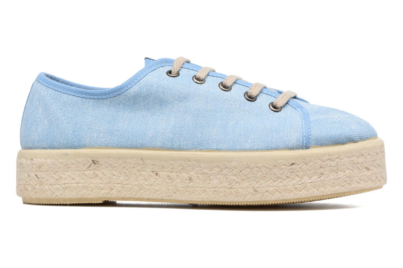 Sneakers MTNG Tejano 69733 Blauw achterkant