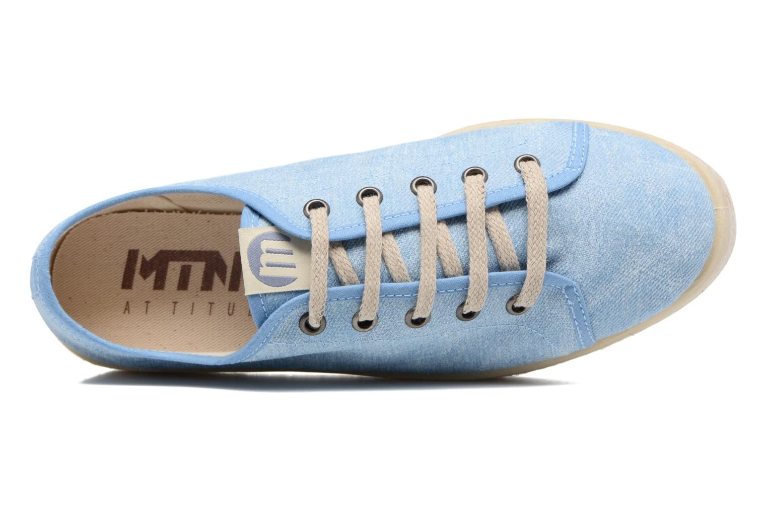Sneakers MTNG Tejano 69733 Blauw links