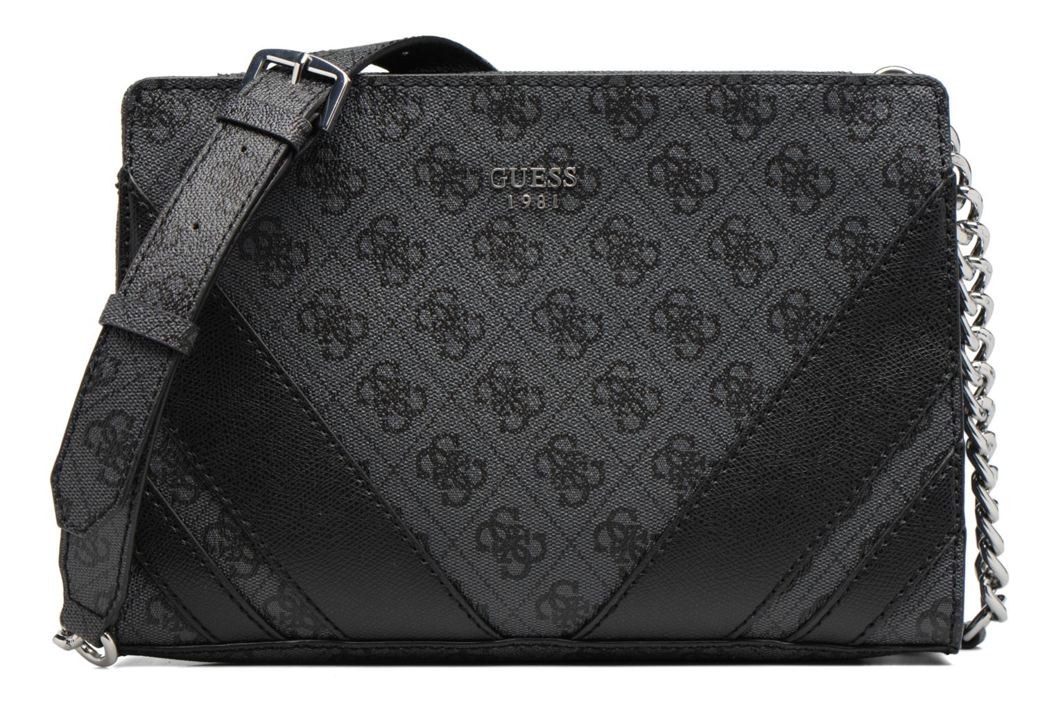 Sacs à main Guess Crossbody Top Zip Slater Noir vue détail/paire