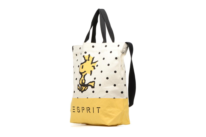 Handtaschen Esprit Snoopy Canvas Shopper mehrfarbig schuhe getragen