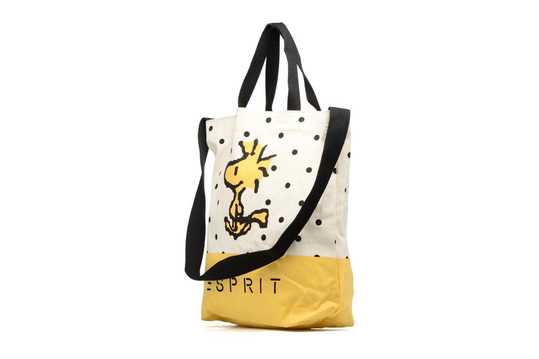 Snoopy Canvas Shopper Yellow