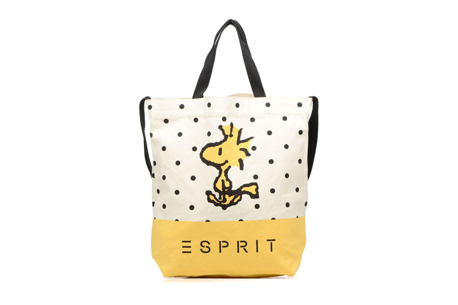 Snoopy Canvas Shopper Yellow