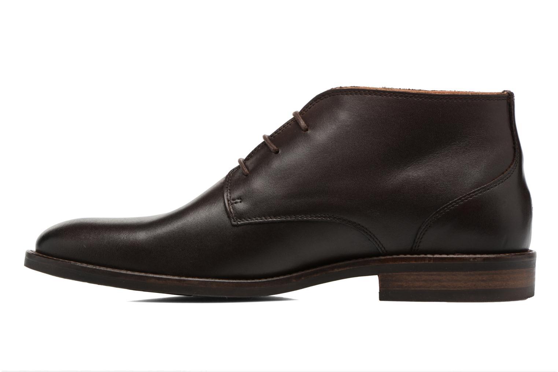 Chaussures à lacets Tommy Hilfiger Daytona 2A Marron vue face