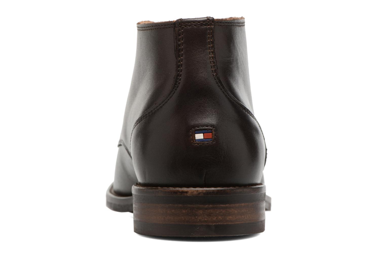 Chaussures à lacets Tommy Hilfiger Daytona 2A Marron vue droite