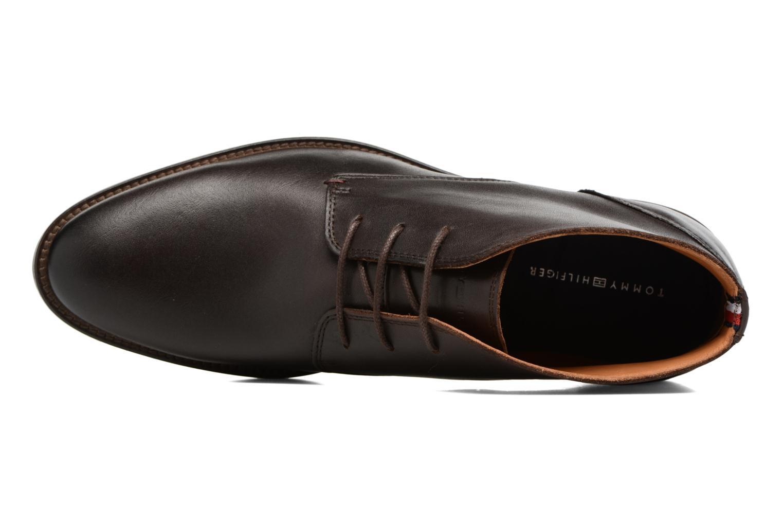 Chaussures à lacets Tommy Hilfiger Daytona 2A Marron vue gauche
