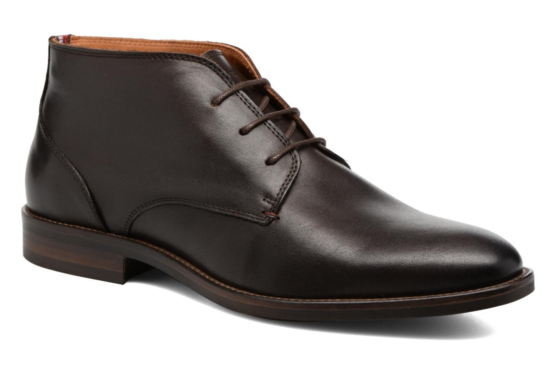 Chaussures à lacets Tommy Hilfiger Daytona 2A Marron vue détail/paire