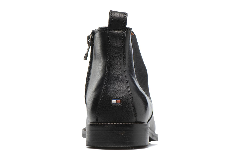 Boots en enkellaarsjes Tommy Hilfiger Daytona 4A Zwart rechts