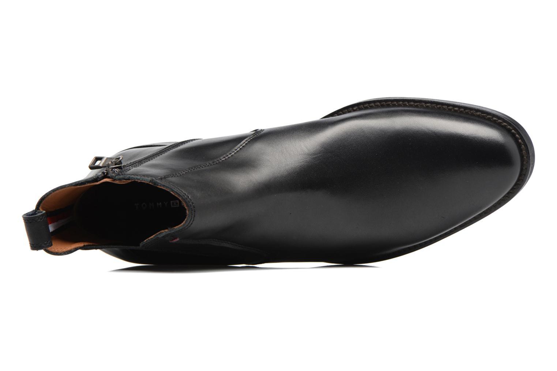 Boots en enkellaarsjes Tommy Hilfiger Daytona 4A Zwart links