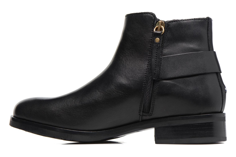 Boots en enkellaarsjes Tommy Hilfiger Tessa 1A Zwart voorkant