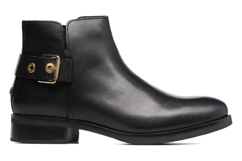 Boots en enkellaarsjes Tommy Hilfiger Tessa 1A Zwart achterkant
