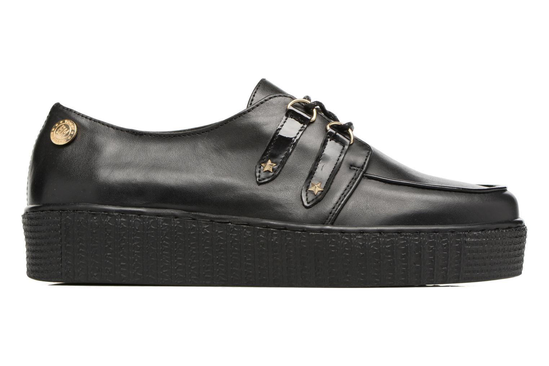 Schnürschuhe Tommy Hilfiger Gigi Hadid Creeper Shoe schwarz ansicht von hinten